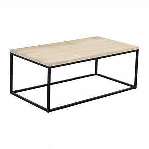 28 off west elm west elm box frame coffee table white for West elm white coffee table