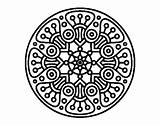 Crop Coloring Circle Mandala Circles Designlooter Mandalas Coloringcrew 470px 77kb sketch template