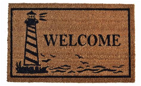 Welcome Mat by Door Mats Lighthouse Coir Welcome Mat 18 Quot X 30