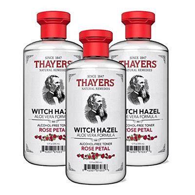 thayers alcohol free rose petal witch hazel with aloe vera 12 fluid ounce thayers free petal witch hazel toner reviews