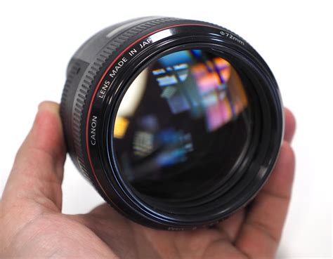 Canon Ef 85mm F/1.2l Ii Usm Lens Review
