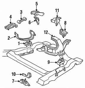 Buick Skylark Mount  Insulator   Front   Engine  Motor