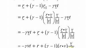 The General Lorentz Transformation