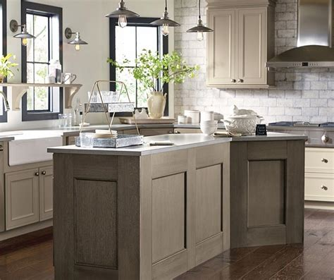 taupe painted kitchen cabinets taupe kitchen cabinets decora cabinetry 6015