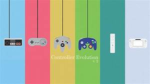 Animated Nintendo Controller Evolution