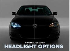 ECS News Headlight Options for your VW MK6 Jetta