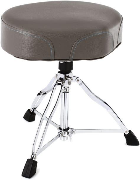 tama 1st chair ergo rider drum throne gray blue