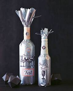 Geschenk Verpacken Folie : geschenkverpackung flaschen verpacken so geht 39 s ~ Orissabook.com Haus und Dekorationen