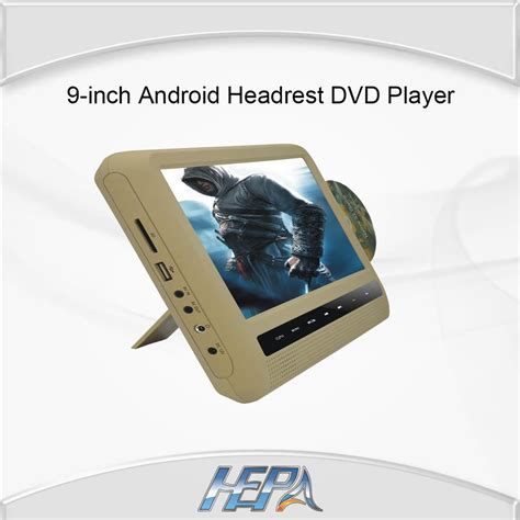 android dvd player hepa 9 inch digital tft led screen android headrest dvd
