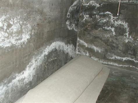 efflorescence  concrete removal weinstein retrofitting