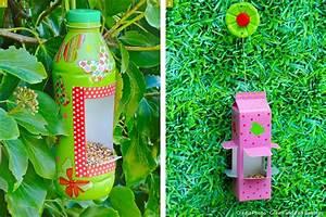 Récup : réalisez une mangeoire à oiseaux Mangeoire, Briques et Bouteille