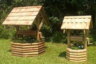 woodworking plans  wishing  flower planter