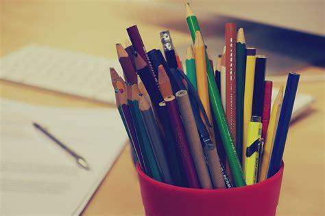 pencils pens stationary  photo  pixabay
