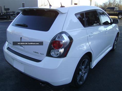 2009 Pontiac Vibe Gt Toyota Matrix