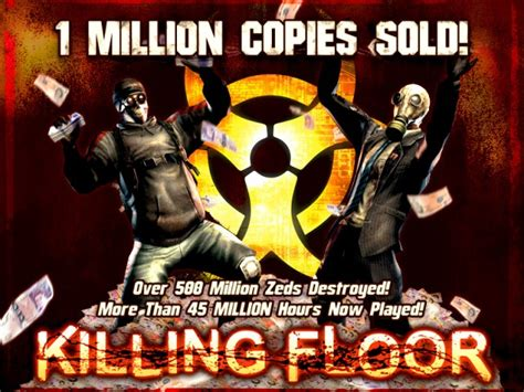 killing floor 2 lore killing floor sells over one million copies celebrates with a sale mash those buttons