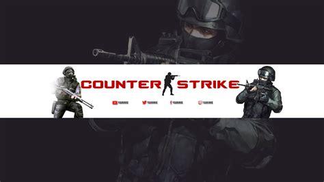 banner template de ts3 counter strike youtube banner channel art 2016 template