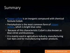 The Ultimate Guide Copper Sulphate