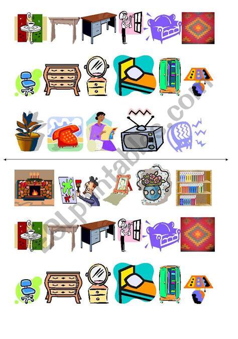 furniture images esl worksheet  diana alejandra