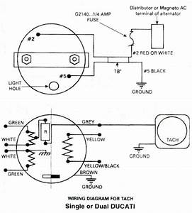Ducati Tachometer  Ducati Ignitionwiring Diagram For Rotax