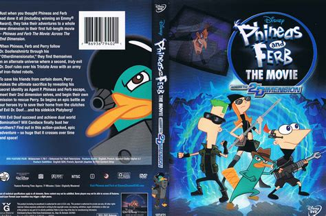 Animation Movie Phineas And Ferb The Movie Across The