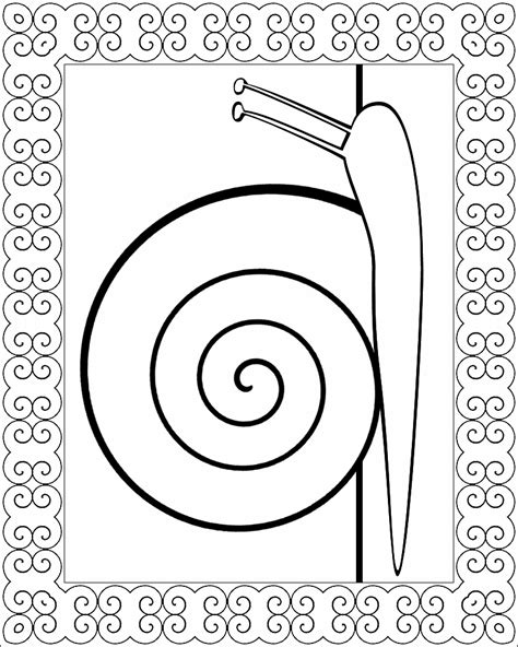 snail coloring page don t eat the paste a snail for you coloring page