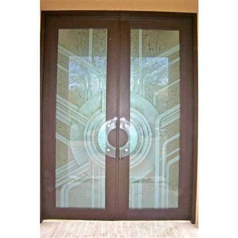 Etched Frosted Glass Doors, Acid Wash Glass Excellent