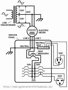 Residential Transformer Wiring Diagram  Ece252 Lesson 14  If Three Phase Power Uses Three Wires