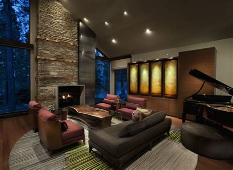 design ideas for living rooms modern mountain homes to take you away