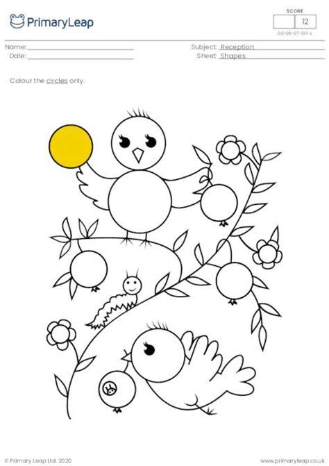 resource   children recognise circles