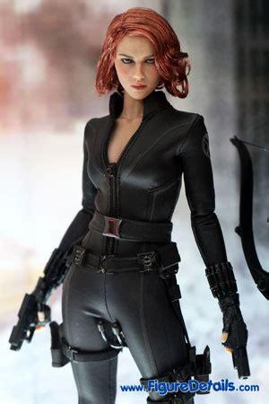 black widow scarlett johansson  avengers hot toys