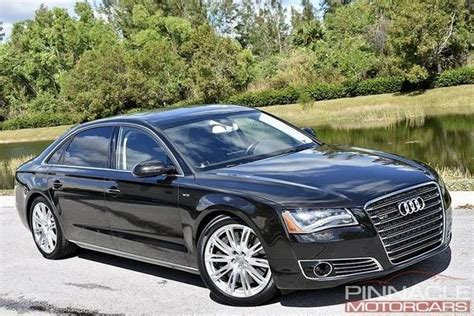 Audi A8 For Sale by 2012 Audi A8 L W12 For Sale 81603 Mcg