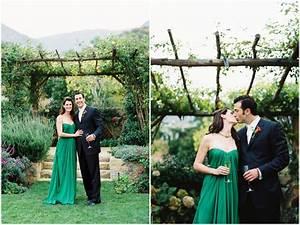 inspired by this santa barbara green wedding dress wedding With wedding dress santa barbara