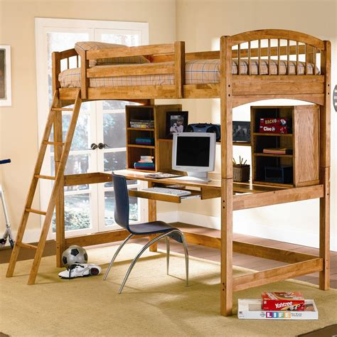 bed with ladder and desk bedroom beautiful bunk bed with desk and chair for kids
