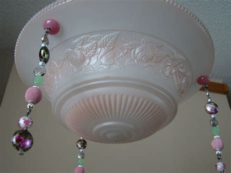 hometalk  purposed bling vintage ceiling light