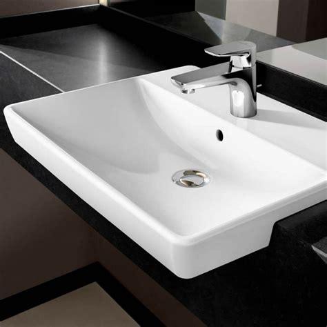 villeroy boch avento semi recess washbasin bathrooms