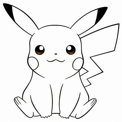 Gambar Sketsa Pokemon Kartun Mewarnai Mudah Mewarna