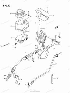 Suzuki Atv 2005 Oem Parts Diagram For Shift Lever