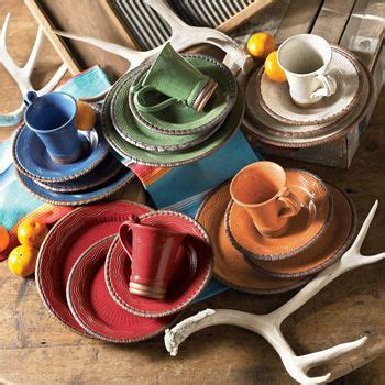 desert rainbow dinnerware rustic dinnerware