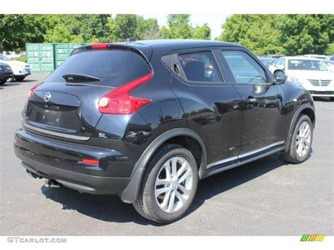 nissan juke black sapphire black 2011 nissan juke sl exterior photo