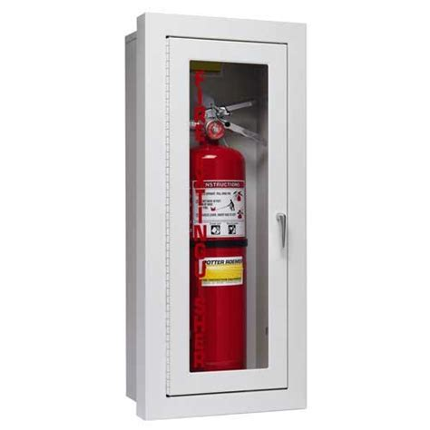 semi recessed alta extinguisher cabinets potter roemer