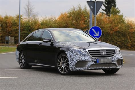 2018 Mercedes-amg S63 4matic+ Lang Spied With Full Roll
