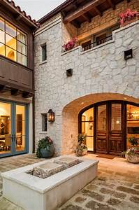 Spectacular, Transitional, Mediterranean, Style, Grand, Residence, In, Texas