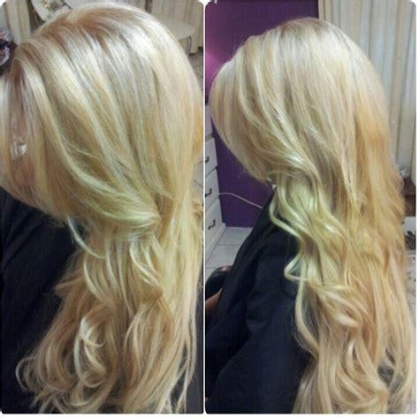 beautiful blonde schwarzkopf blondme highlight color