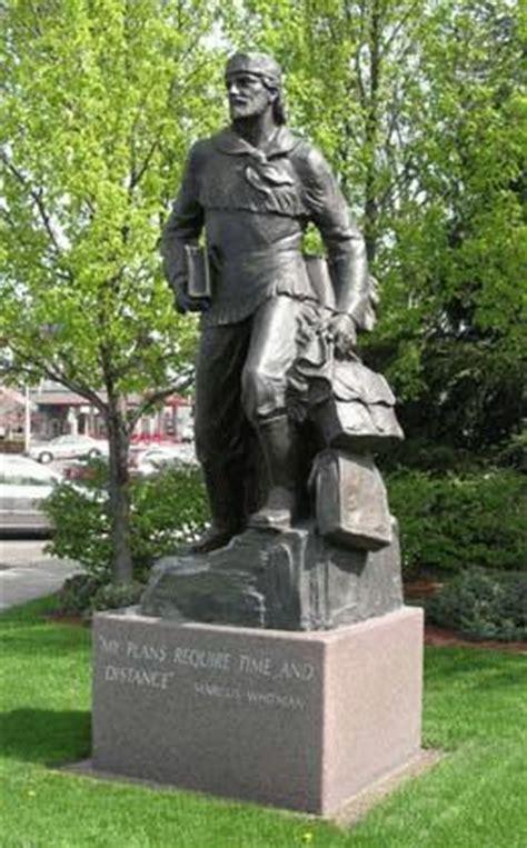 marcus whitman statue  unveiled   capitol  washington dc