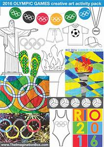 Bumper 41 page Summer Olympic Games Creative Art ...