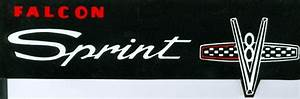 1965 Ford Falcon Sprint Valve Cover Decal