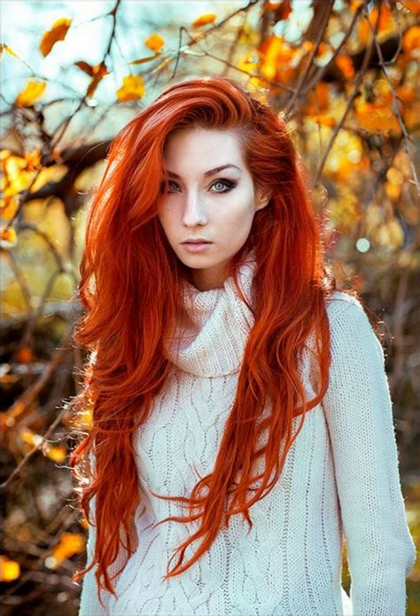 beautiful red hair color ideas  women