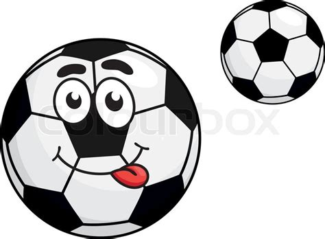 Cartoon Pictures Of Soccer Balls