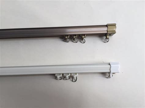 curtain track single pole pole curtain rod curtain