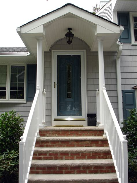 front entry portico remodeling projects   jersey